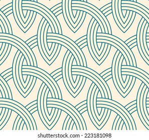 Lattice - seamless vector pattern.