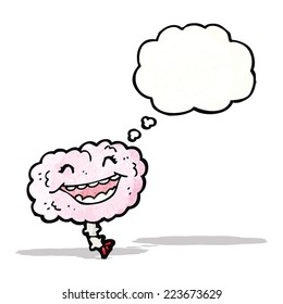 laughing brain cartoon