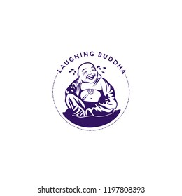 laughing buddha symbol design