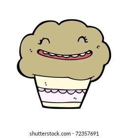 laughing muffin cartoon