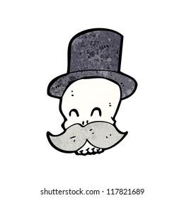 laughing skull cartoon