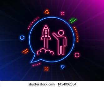 c575bd143 Rocket Neon Images, Stock Photos & Vectors   Shutterstock