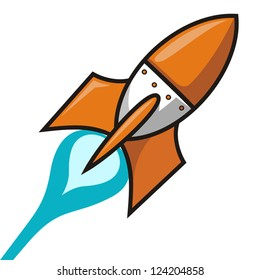 Launched rocket