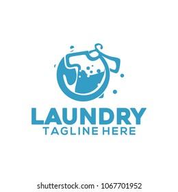 Laundry logo Design