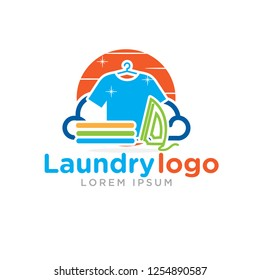 laundry logo designs