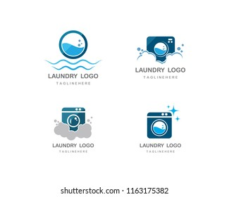 laundry logo images stock photos vectors shutterstock https www shutterstock com image vector laundry logo vector icon template 1163175382