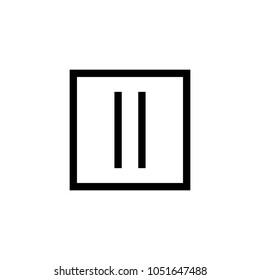 laundry symbol icon (Drip dry )