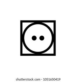 laundry symbol icon (Tumble dry normal )