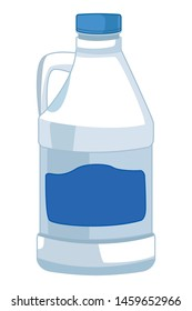 laundry wash and cleaning bleach icon cartoon vector illustration graphic design