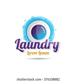 Laundry Washing Machines Vector Icon