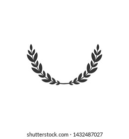 Laurel Wreath Ornamental Leaf Icon