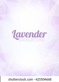 Lavender background. Lilac pattern. Subtle background. Abstract subtle pattern. Light violet background. Simple vector pattern. Lilac background
