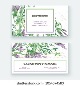 Lavender floral pattern cover design. Hand drawn creative flower. Elegant trendy artistic background blossom greenery branche. Graphic illustration wedding, invitation, poster, card, cover, catalog