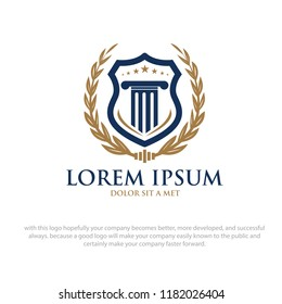 law academy logo designs