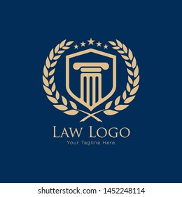 law academy logo designs. Law Education Logo. Law firm Logo
