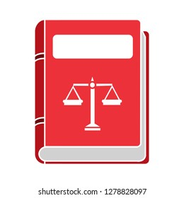 law book icon-justice sign-judgment illustration-lawyer illustration