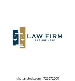 law firm design logo template