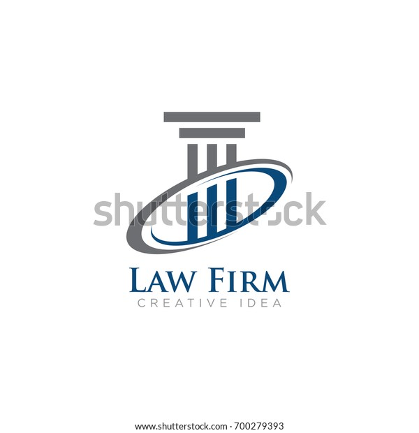 Law Firm Logo Vector Stock Vector (Royalty Free) 700279393