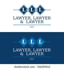 Law Firm Logo - Vector Illustration