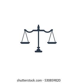 Law Firm Vector Logo Design Template