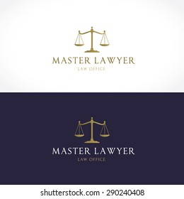Law Firm Vector logo template
