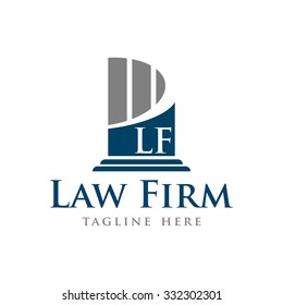 Law Firm Vector Template