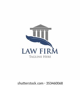 Law Firm,Law Office, Lawyer services, Vector logo template