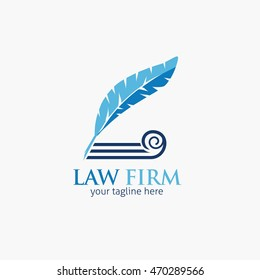 Law Firm,Law Office, Lawyer services, Vector design logo template