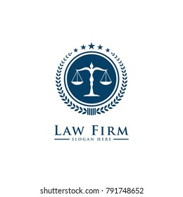 Law Firm,Law Office, Lawyer services, Luxury vintage crest logo, Vector logo template