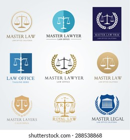 Law Frm Logo Set