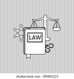 Law and Justice book design