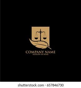 Law Logo Template Design