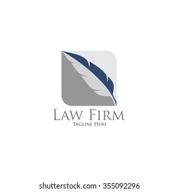 Law office logo. The judge, Law firm logo template, lawyer set of vintage labels. full vector logo and easy to edit able.