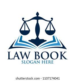 law scale logo design