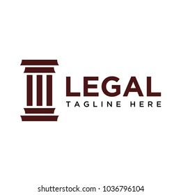 law/legal logo design template