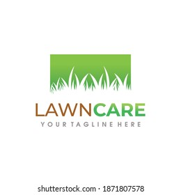 Lawn Care Logo. Lawn Services Logo Vector