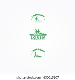 Lawn Mower Logo