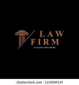 lawyer,judge logo design vector template