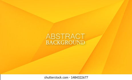 Layers of carbon triangles. Layout blank or card. Vector techno background from sheets of metal. Geometrical Shapes from cut Paper