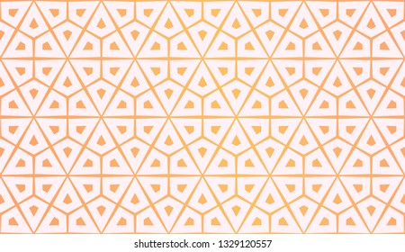 Layout With Curved Line. Abstract Hipster Pattern. Gradient Background. Design For Screen, Presentation, Wallpaper. Holiday Object. Vector Illustration.