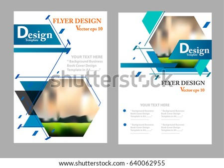 layout design template cover book geographic stock vector royalty