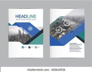 layout design template vector, abstract  background, layout in A4 size