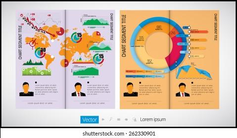 Layout magazine, vector  - Shutterstock ID 262330901