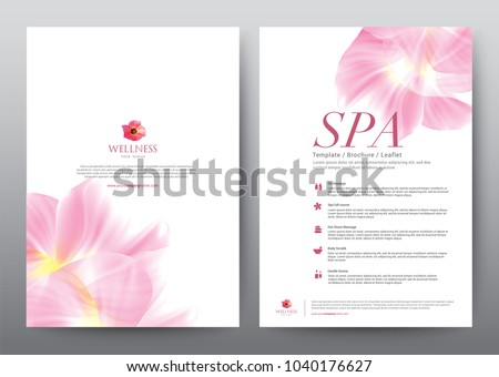layout template elements presentation background design stock vector