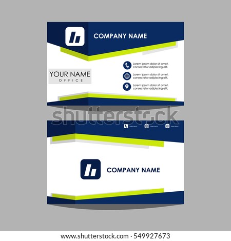 Layout template id card business card stock vector royalty free layout template id card and business card design friedricerecipe Gallery