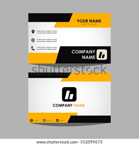 Layout template id card business card stock vector royalty free layout template id card and business card accmission Gallery