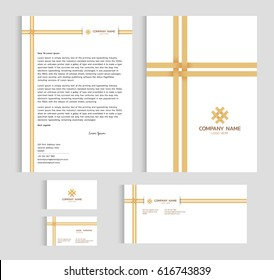 Layout flyer template size a4 cover stock photo photo vector layout template size a4 cover page business card and letter bamboo weaving cross vector accmission Image collections