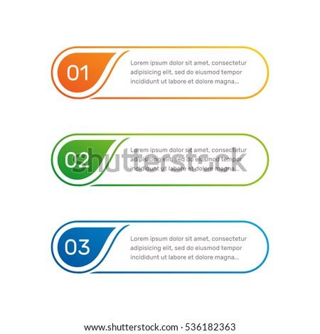layout workflow outline colorful menu app のベクター画像素材