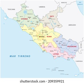 Frosinone Province Map Images Stock Photos Vectors Shutterstock