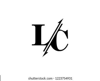 LC initials logo sliced